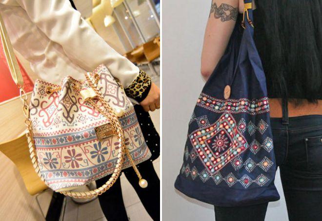 женская сумка мешок через плечо