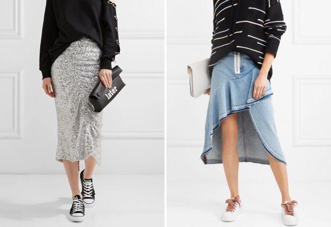 модные женские кеды
