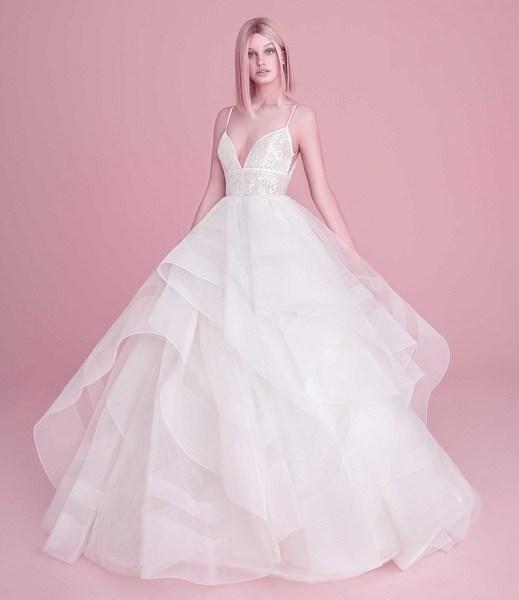 Hayley Paige модное свадебное платье с пышной юбкой 2019hayley paige