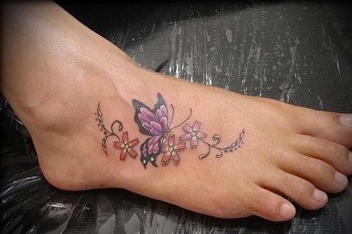 Красивые женские татуировки. Фото и значение рисунков, эскизы тату для девушек