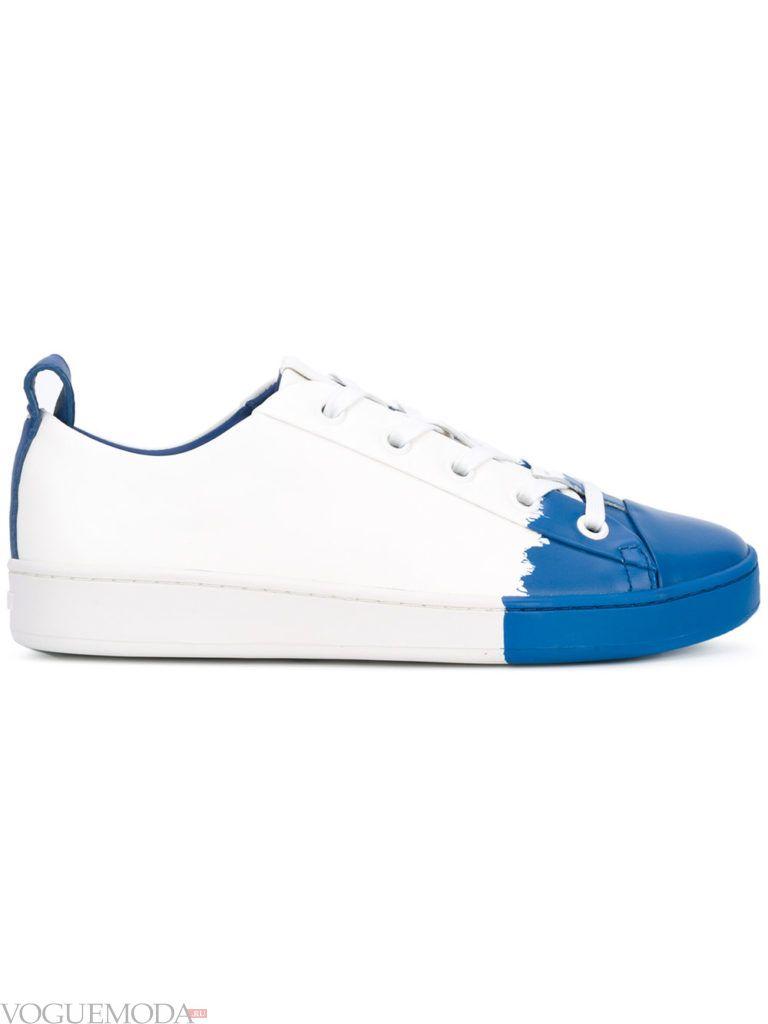кеды DKNY белые