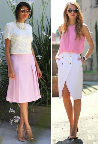 С каким цветом сочетается розовый цвет в одежде для женщин. Что означает, оттенки, с чем носить, кому идет. Фото