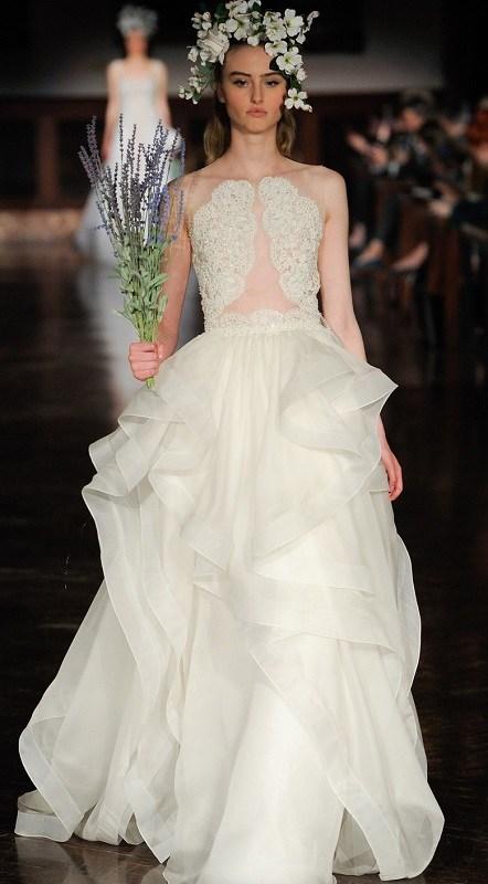 самые красивые модные свадебные платья 2019