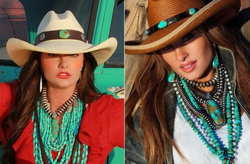 Модные ковбойские шляпы