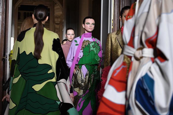 Все подробности показа Valentino Haute Couture 2018/2019 фото № 3