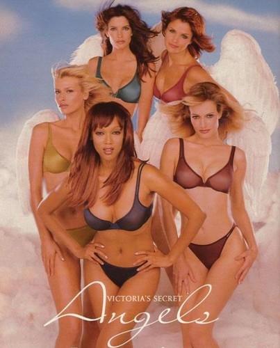 victorias secret первые ангелы