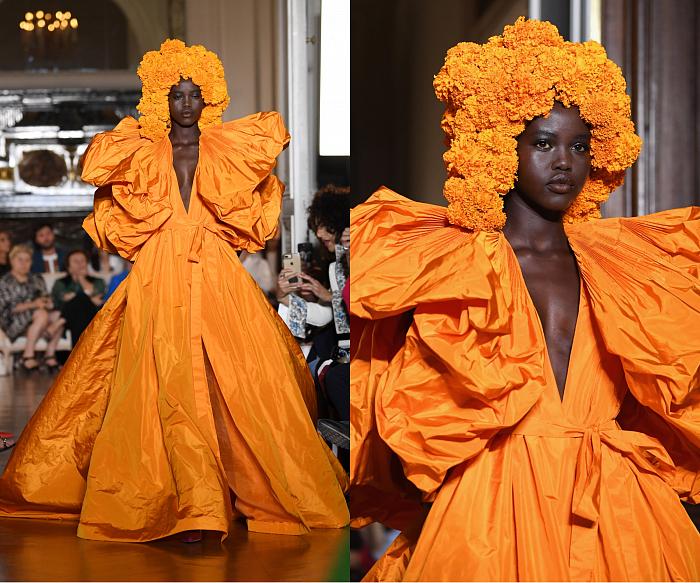 Все подробности показа Valentino Haute Couture 2018/2019 фото № 9