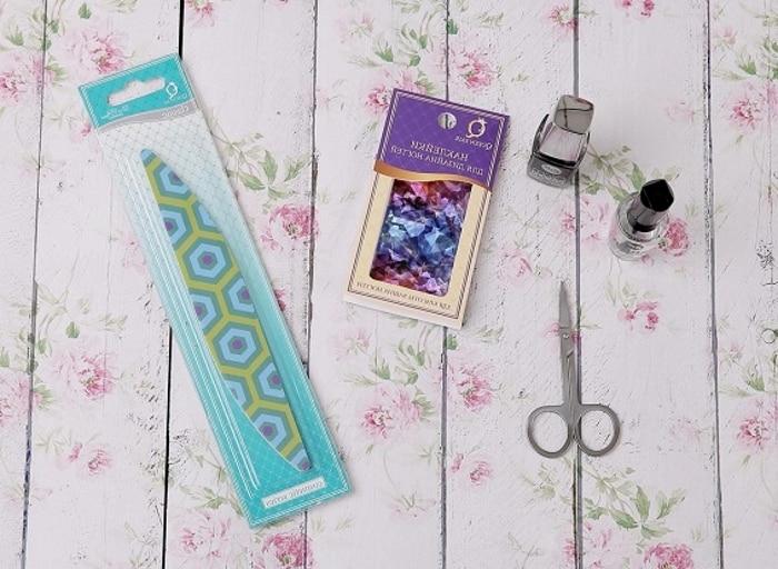 Инструменты для маникюра «битое стекло»