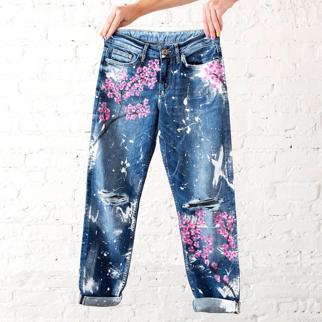 Рисунок на брюках