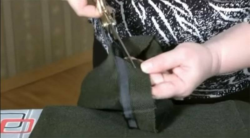 Как легко и просто сделать невидимую заплатку на брюках