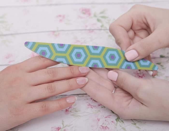 Подготовка ногтя