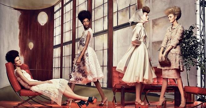 Ретро-стиль – в одежде и обуви для девушек и женщин