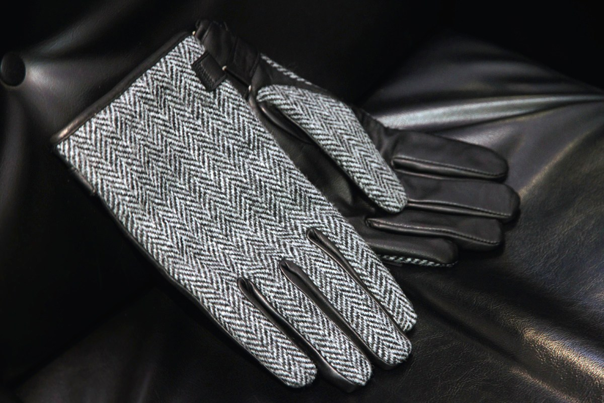 Мужские перчатки текстильные