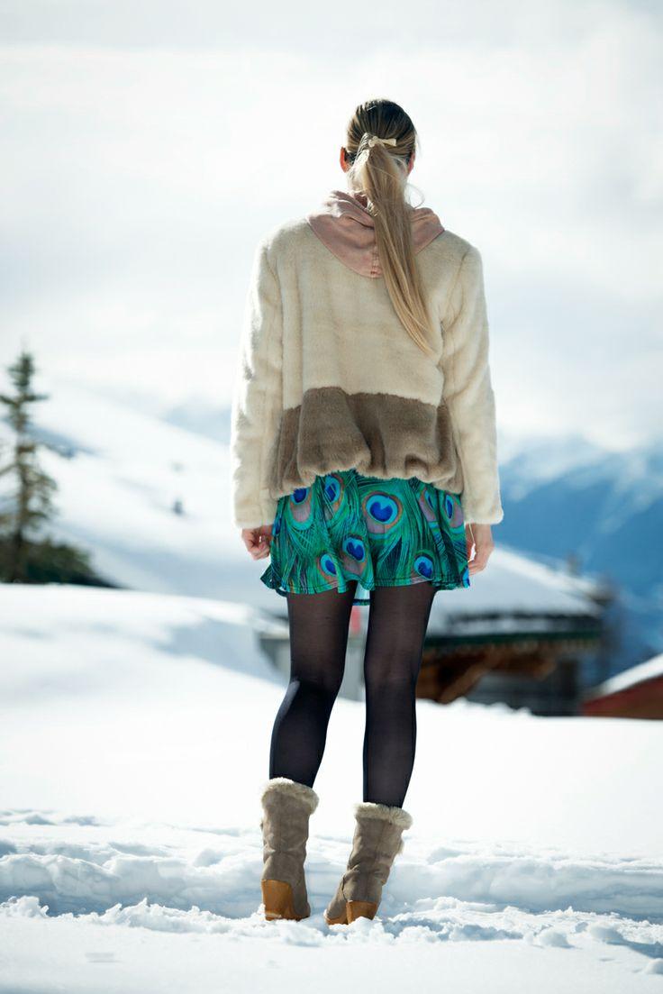 Ботинки с мехом зимние