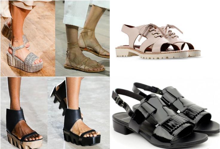 сандали, фото