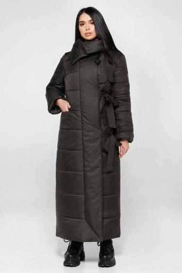 Стеганое женское демисезонное пальто oversize - Блог/Фаворитти
