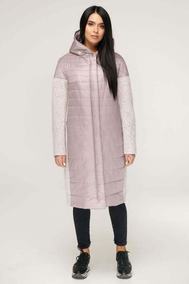 Длинное стеганое женское демисезонное пальто - Блог/Фаворитти