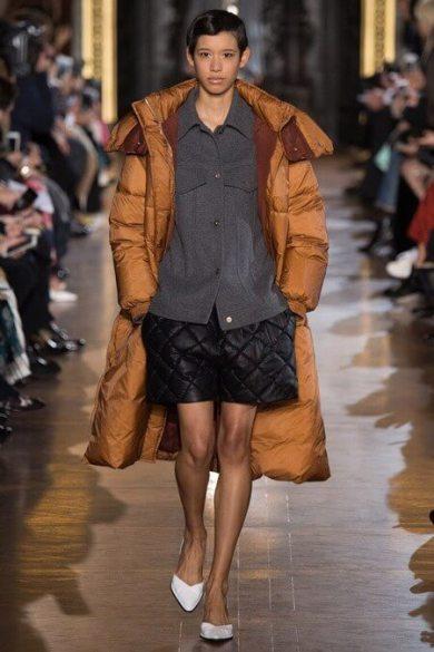 Стеганое женское пальто со стеганными шортами - Блог/Фаворитти