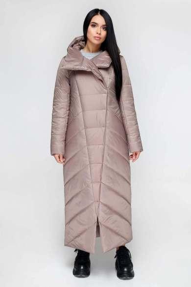 Стеганое женское демисезонное пальто кокон - Блог/Фаворитти