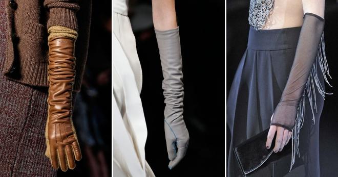 Длинные перчатки – с чем носить, чтобы выглядеть модно и элегантно?