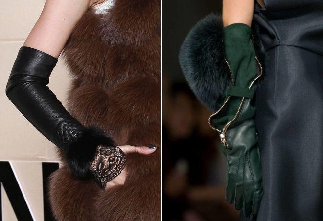 женские длинные перчатки