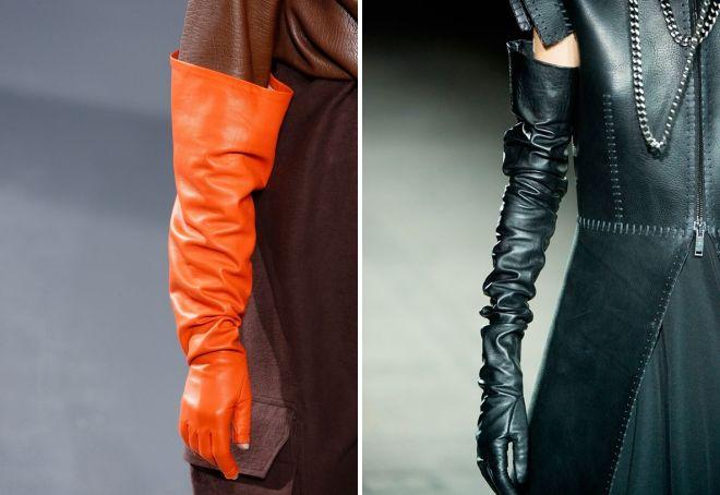 ждинные женские кржаные перчатки