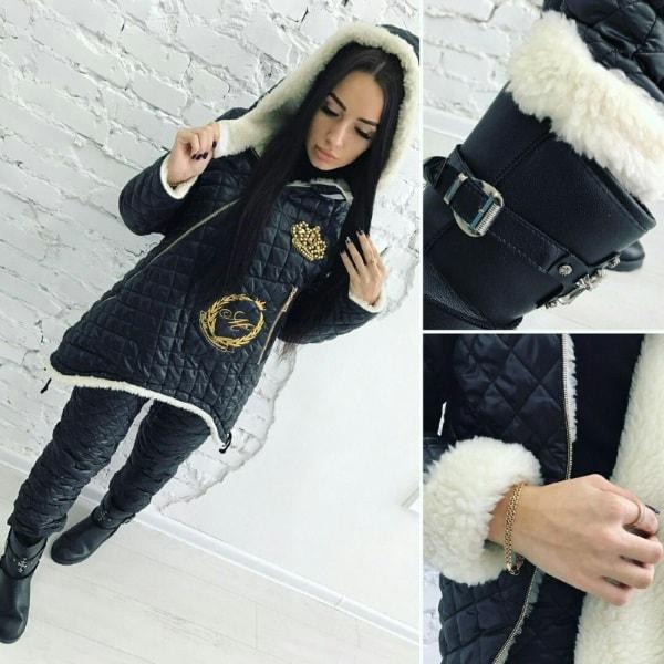 зимний костюм для модниц