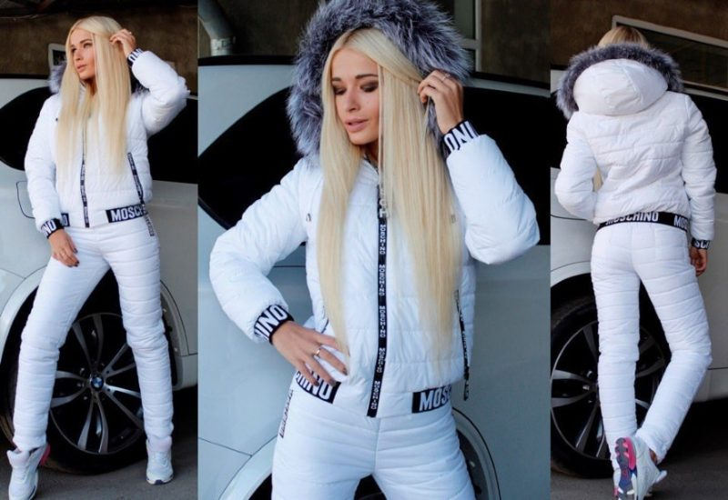теплый костюм для зимнего спорта