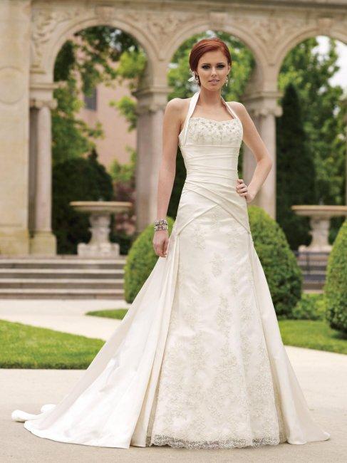 Платье невесты в цвете айвори